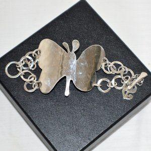 Robert Lee Morris Andy Warhol Sterling Bracelet